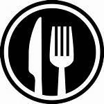 Icon Svg Symbol Fork Restaurant Knife Cutlery