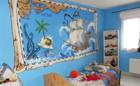 chambre bateau pirate peinture bateau pirate lucas bateau pirate