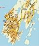 Mapas de Nuuk - Groelândia - MapasBlog
