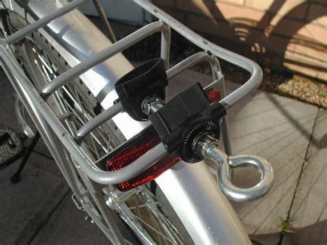 bicycle trailer hitch  luggage rack  steps
