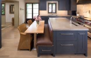 islands in kitchen how a kitchen table with bench seating can totally complete your home