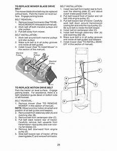 Page 25 Of Craftsman Lawn Mower 917 289283 User Guide