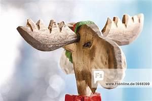 Weihnachtsdeko Aus Holz : elch aus holz weihnachtsdeko lizenzpflichtiges bild ~ Articles-book.com Haus und Dekorationen