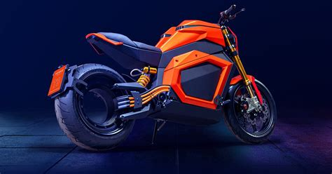 verge TS electric motorcycle runs with tron-like hubless ...