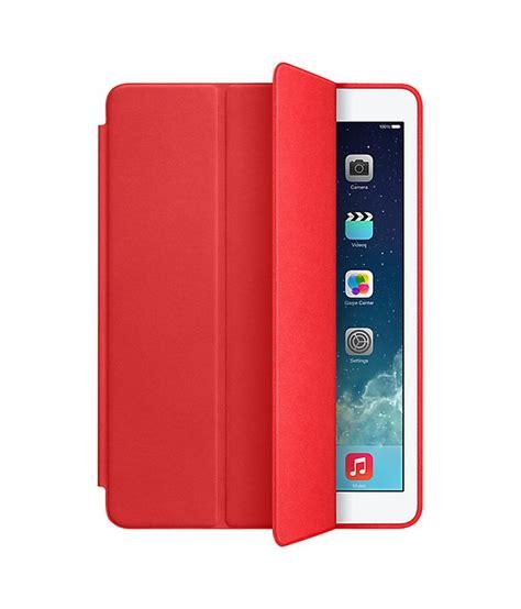 praiq smart book case cover for apple ipad mini 2 red