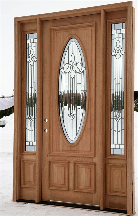 Wood Entry Doors by Exterior Entry Doors With Sidelights House Ideas