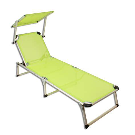 chaise longue plage alu chaise longue avec pare soleil plage chaise longue de