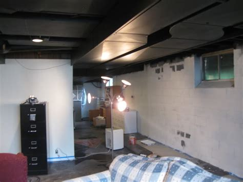 Paint Sprayer For Basement Ceiling by Fall Paint Basement Ceiling Ideas Modern Ceiling