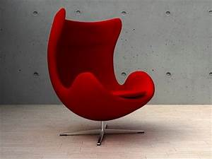 fauteuil oeuf egg chair jacobsen With fauteuil jacobsen