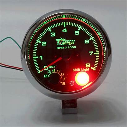 Rpm Tachometer Gauge Meter Rev Shift Tacho