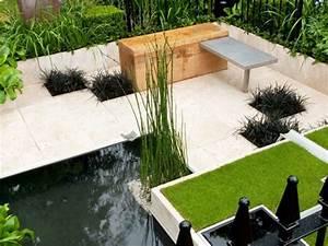 Patio et petit jardin moderne des idees de design d for Idee de jardin moderne