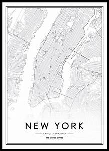 New York Poster : poster with new york map ~ Orissabook.com Haus und Dekorationen
