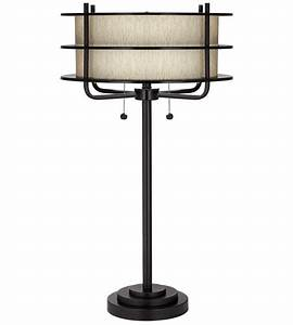 ovation 32 inch 200 watt bronze table lamp portable light With table lamp 200 watt