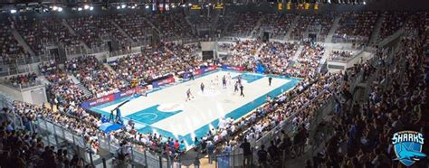 Azur Arena In Antibes by Basketball Sharks Antibes Asvel 29 Mars 2016 At Azur