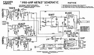 Fender Amp Schematic - Diagrams Catalogue