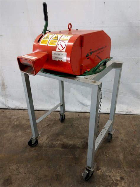 sweed model ad plastic steel banding scrap chopper stock