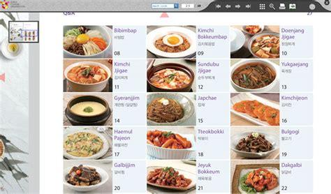 jeu de cuisine cooking préparer des plats coréens devient un jeu d enfant avec les manuels de cuisine the