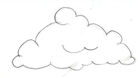 clouds drawing pencil sketch colorful realistic art