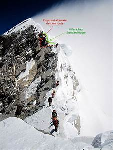 Alternate Hillary Step Descent Route Is The World U0026 39 S