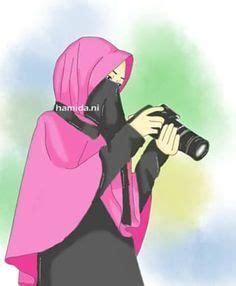gambar kartun muslimah memanah khazanah islam
