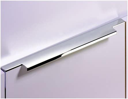 recessed cabinet pull chrome kuchyňské úchytky madla do kuchyně na kuchyňskou linku