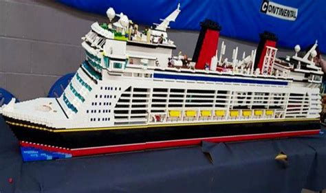 Biggest Lego Boat Ever by World S Largest Lego Ship Sets Guinness Record India