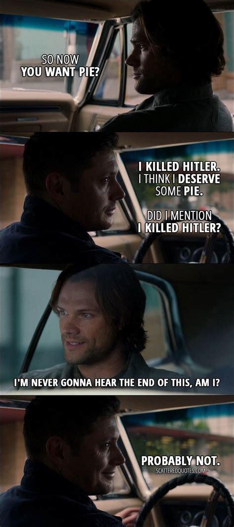 Dean Quotes 1000 Best Supernatural Quotes On Supernatural