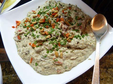 cuisine israelienne eggplant salad