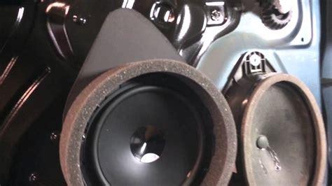 gmc sierra fast ring speaker installation youtube