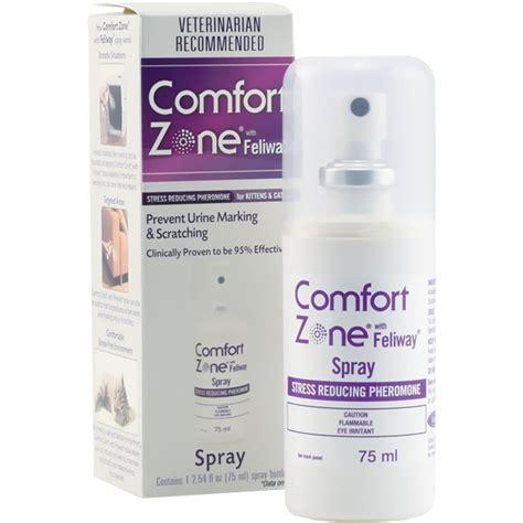 comfort zone feliway comfort zone feliway spray 75 ml