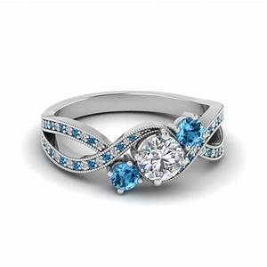 avail special savings on blue topaz jewelry fascinating With wedding rings with blue stones