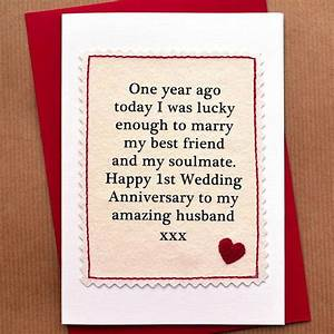 the 25 best anniversary cards for husband ideas on With first wedding anniversary gifts for husband