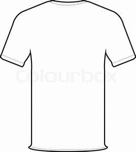 T Shirt Bemalen Schablone : zur ck t shirt vektor stock vektor colourbox ~ Frokenaadalensverden.com Haus und Dekorationen