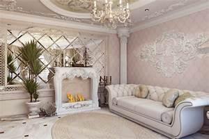 decoration mur salon platre With decoration murale en platre