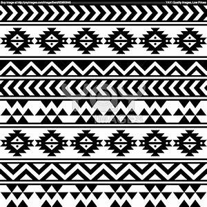 Aztec Tribal Print Wallpaper
