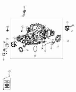 2018 Jeep Grand Cherokee Differential  Rear Axle