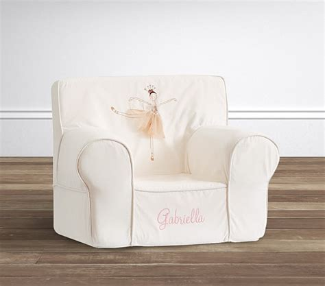 anywhere chair slipcover only pottery ballerina icon anywhere chair slipcover only