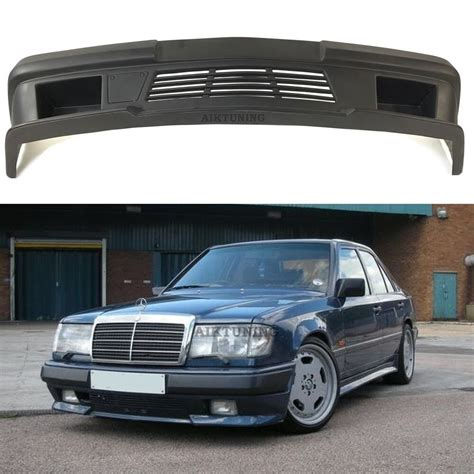 mercedes benz  amg  style full front bumper spoiler