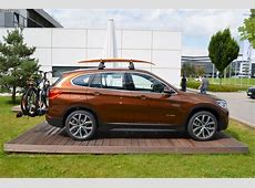 2015 BMW X1 looks great in Chestnut Bronze Color
