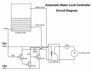 Automatic Water Level Controller Using Transistors Or 555