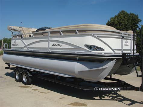 Luxury Pontoon Boats For Sale by Regency Luxury Pontoon Boat 220 Dl3 Boats For Sale