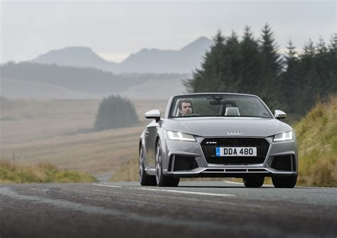 audi tt rs roadster review prices specs    time evo