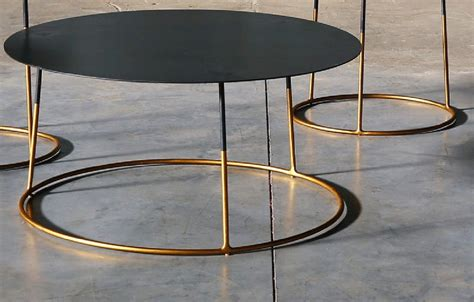 coffee table atole gold  cm   cm high