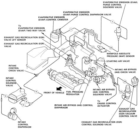 1992 Honda Accord Engine Diagram Exhaust by 93 Honda Accord Exhaust System Downloaddescargar