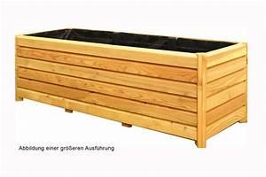 Blumenkasten Holz Balkon : pflanzkasten selbst bauen blumenkasten 90x40x40 cm rechteckig aus holz lrche pflanzkbel ~ Orissabook.com Haus und Dekorationen