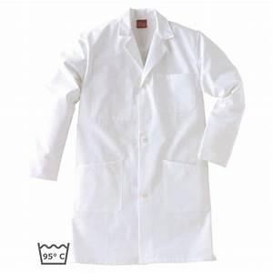 Blouse De Travail Homme : blouse de travail nombreuses poches coton adolphe lafont blanc ~ Dailycaller-alerts.com Idées de Décoration