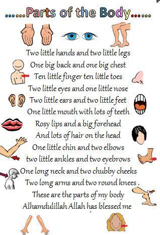 parts of the teaching buscar con 576 | 9e53b682c0c8066897adda469c49f2f6 rhyming poems for kids teachers day