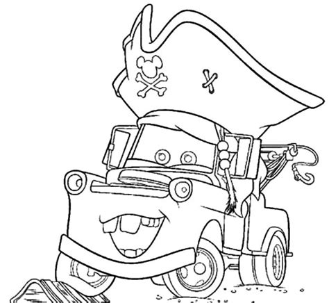 mater coloring pages drawing tow mater coloring pages drawing tow mater