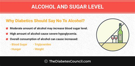 test  blood sugar  consuming alcohol