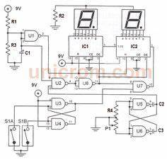 two digit led counter multiplexing circuit diagram With arduino ticking time bomb build the circuit